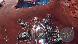 Halo wars 2 gameplay jugando con colonia modo escaramuza (sin comentarios)