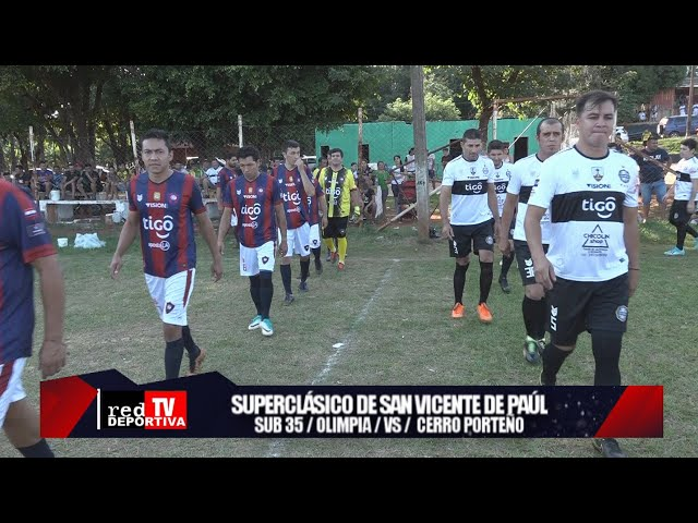 SUPERCLASICO DEL BARRIO SAN VICENTE DE PAÚL