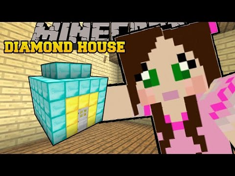 Minecraft: HOUSE MADE OF DIAMONDS!!! - CURSE OF THE PUMPKIN PRINCE - Custom Map [1]