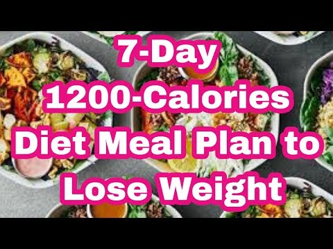 7-day-1200-calories-diet-meal-plan-to-lose-weight-part-2- -keto-diet-for-beginners