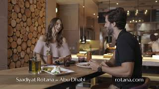 Restaurants @ Saadiyat Rotana Resort & Villas – Abu Dhabi, United Arab Emirates