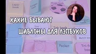 Анастасия Рыкова. Какие бывают шаблоны для лэпбуков