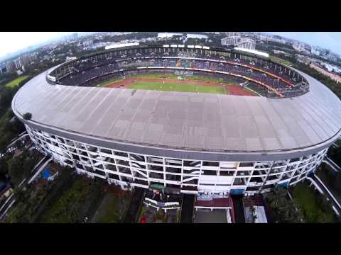 Salt Lake Stadium Aerial