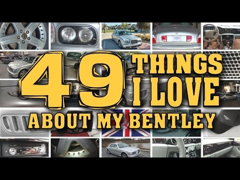 49 Things I Love About My Bentley   Owning A Bentley Arnage - Video 10