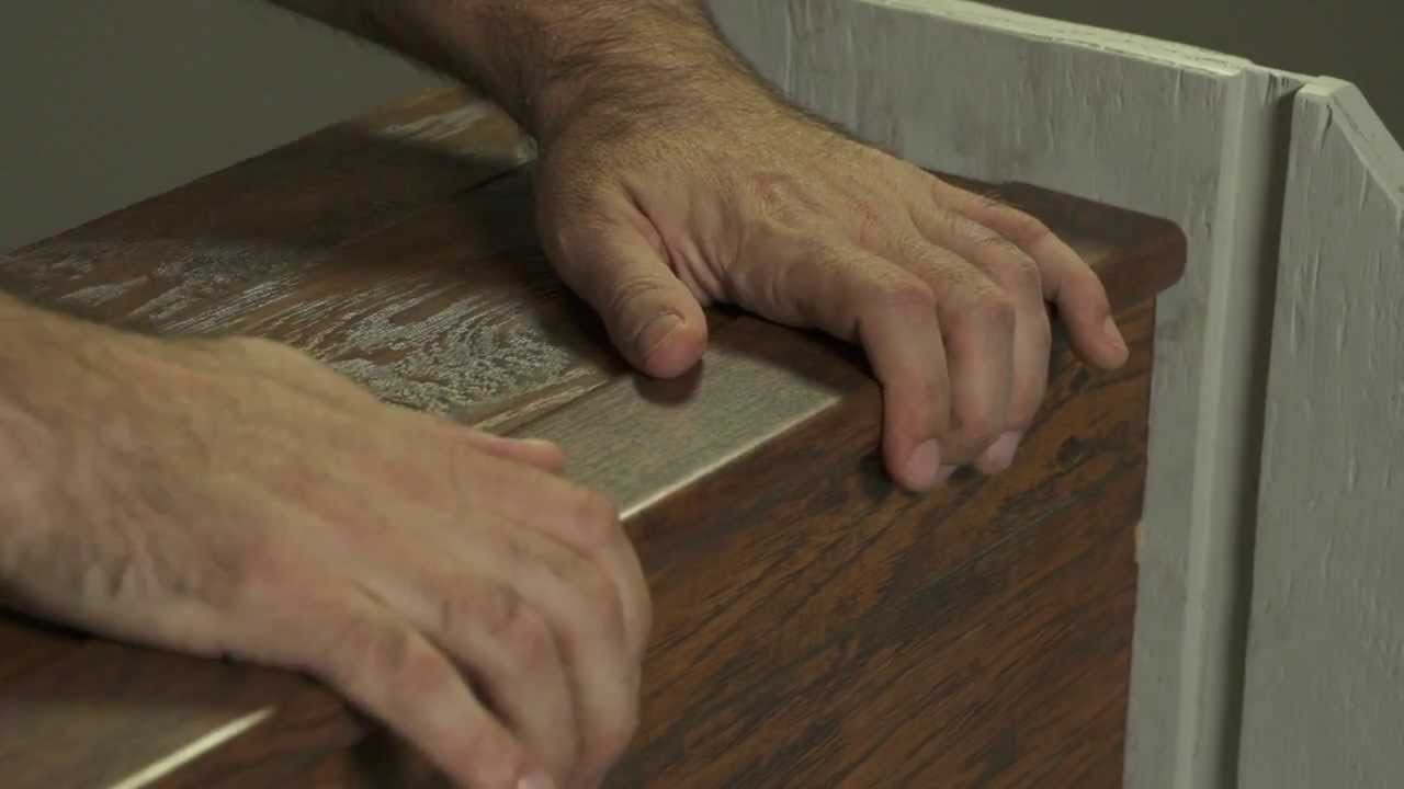 How To Install Pergo Flooring: Chapter 8   Installing On Stairs   YouTube