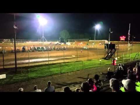 Sprint Car Flip at Duck River Speedway
