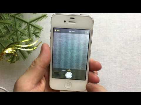 Обновляем IPhone 4.