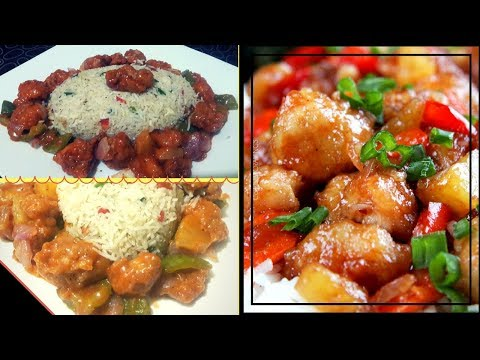 The BEST Chinese Style Sweet n sour with fried rice recipes: How to Make Sweet & Sour chicken recipe