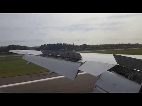*Onboard* United Airlines 767-300ER landing @ Hamburg Airport (EDDH/HAM)