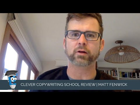 Clever Copywriting School Review: Matt Fenwick