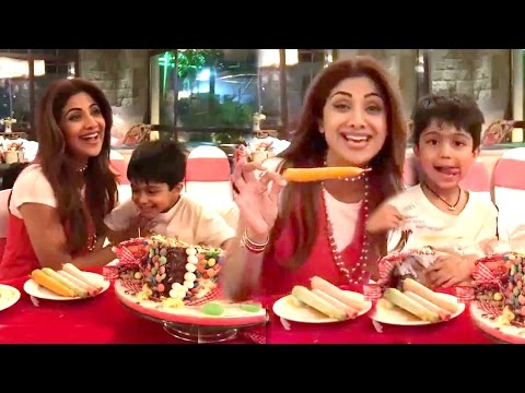 Shilpa Shetty & Raj Kundra's CUTE Son Viaan's BIRTHDAY Party 2017 Full Video HD
