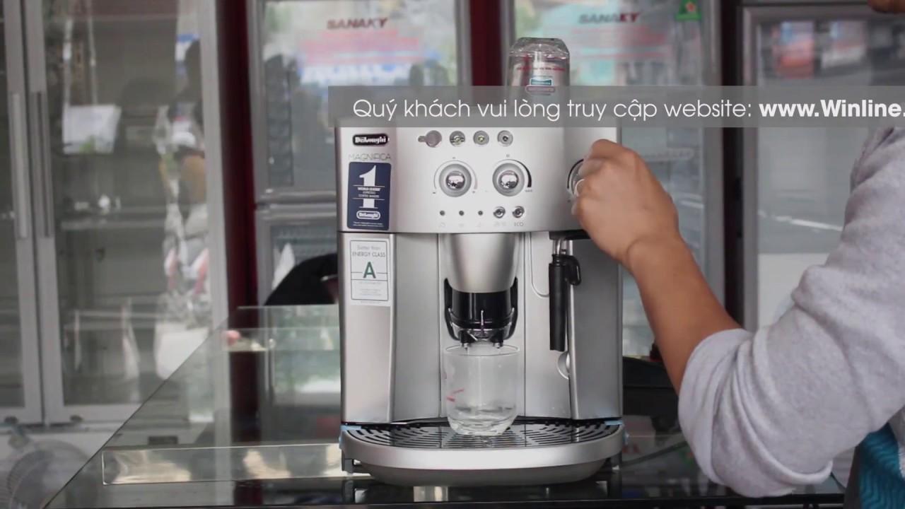 Máy pha cà phê tự động DeLonghi ESAM 4200 -Winline.vn - Hướng dẫn sử dụng tại Winline