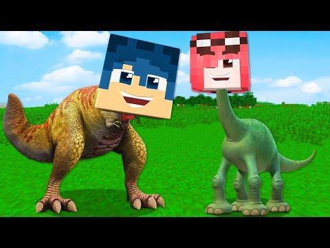 Minecraft ITA - SIAMO DIVENTATI DEI DINOSAURI!