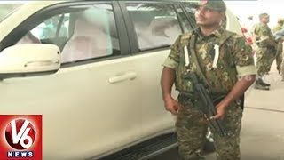CM KCR Security Cover Increased, 18 Commandos To Monitor Security | Hyderabad | V6 News