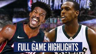 HEAT vs BUCKS GAME 1 HIGHLIGHTS