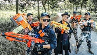 LTT Nerf War : SEAL X Warriors Nerf Guns Fight Criminal Group Dr Mundo Support Friends Battle