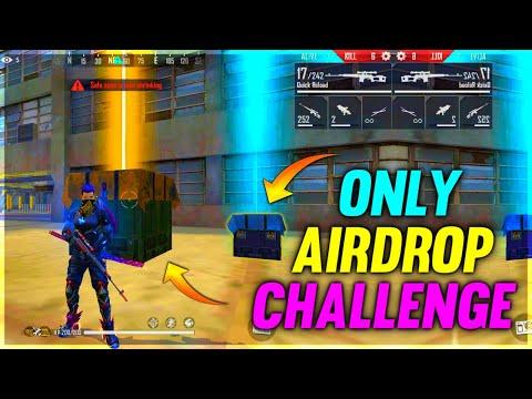 Airdrop Only Gun Challenge || Garena Free Fire - Desi Gamers || Part 2