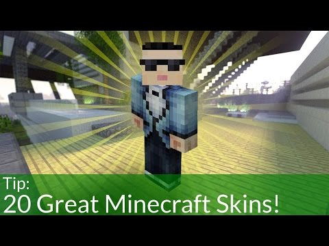 20 Great Minecraft Skins! [Download]