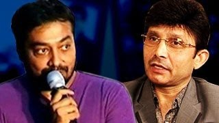 Anurag Kashyap's BEST REPLY To Shut KRK Up | VIDEO