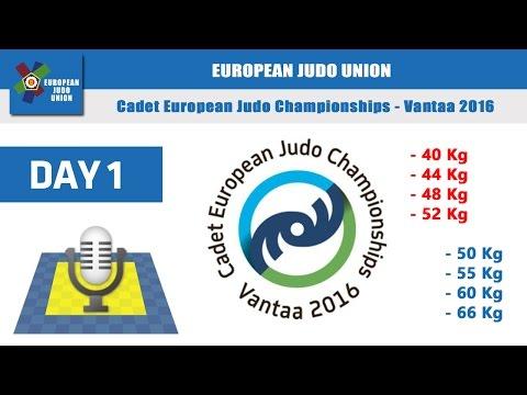 Cadet EJC - Vantaa 2016 - day1