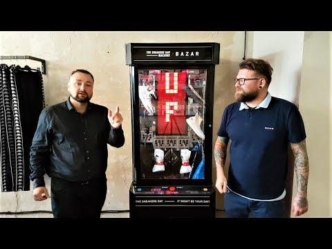 Ile można wygrać na automacie The Sneakers Day x Bazar