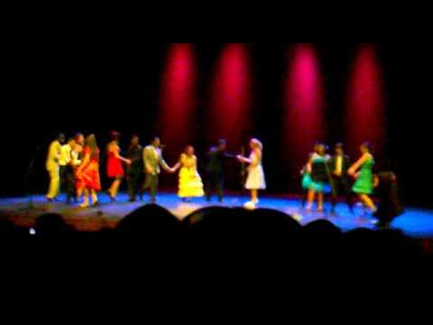 Musical Grease. Teatro de Pinto- El baile