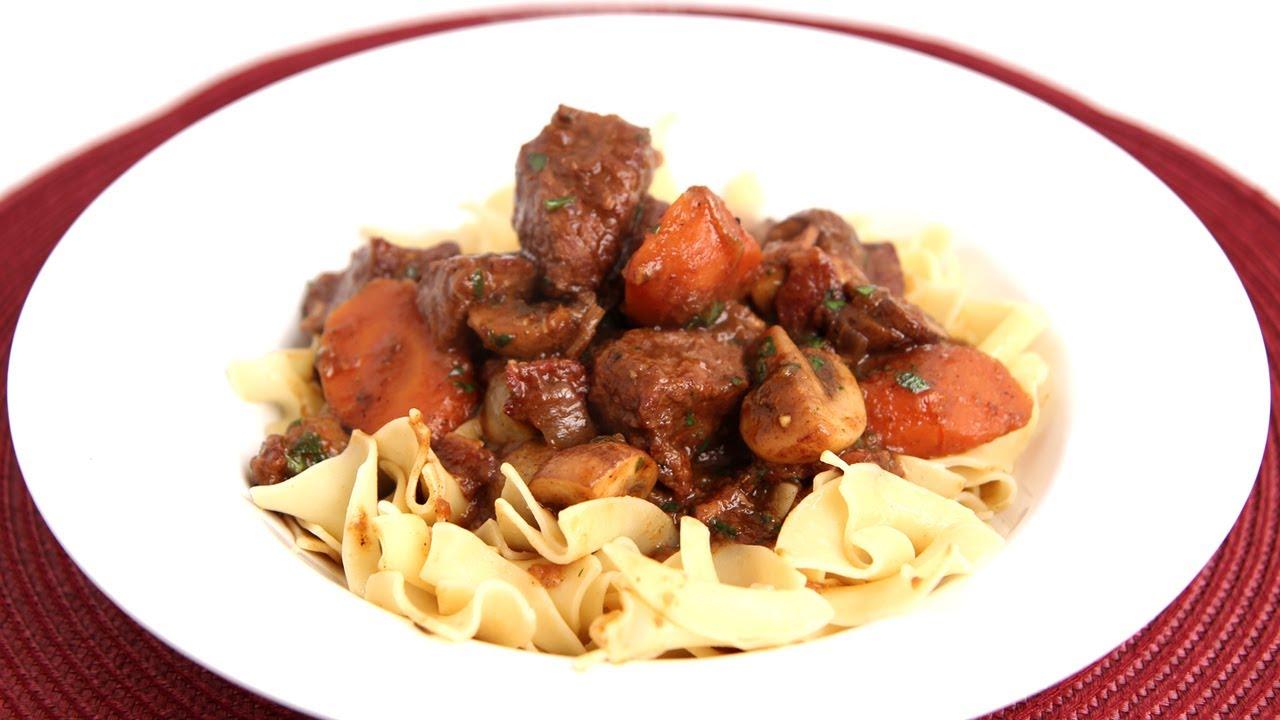 Beef Bourguignon Recipe Laura Vitale Laura In The Kitchen
