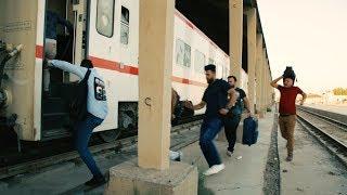#قف_للتحشيش ... محمد قاسم سافر بالقطار ... شوفوا شنو صار ؟!!!