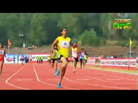 Kerala school sports meet : Relay 4x 100