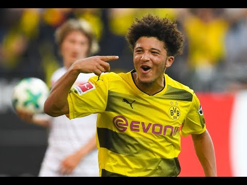 Jadon Sancho's best goals, skills and assists for Dortmund: 2017-2018