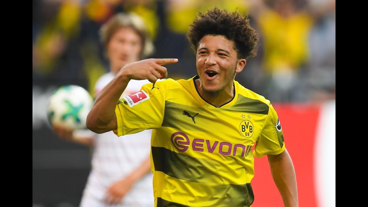the latest 30dc5 52746 Jadon Sancho's best goals, skills and assists for Dortmund: 2017-2018