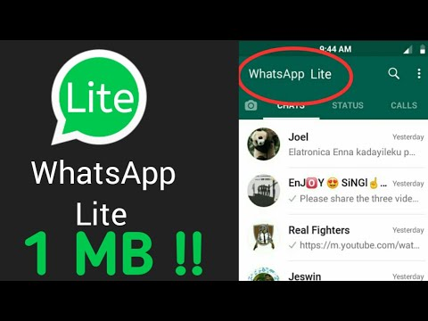 Whatsapp Lite App In 1 Mb Direct Download Link In Description Pkd Art 1 0 Youtube