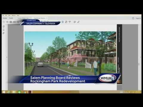 Salem planning board reviews Rockingham Park redevelopment