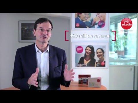 Didier Jaubert   CEO of Arkadin Business strategy focus HD