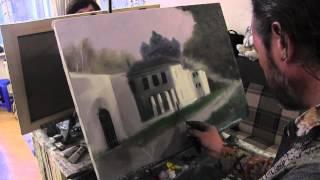 Научиться рисовать архитектуру, Сахаров, уроки живописи для начинающих