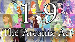 Winx Club - The Arcanix Act 1-9 [Season 1][Fan-Fiction]