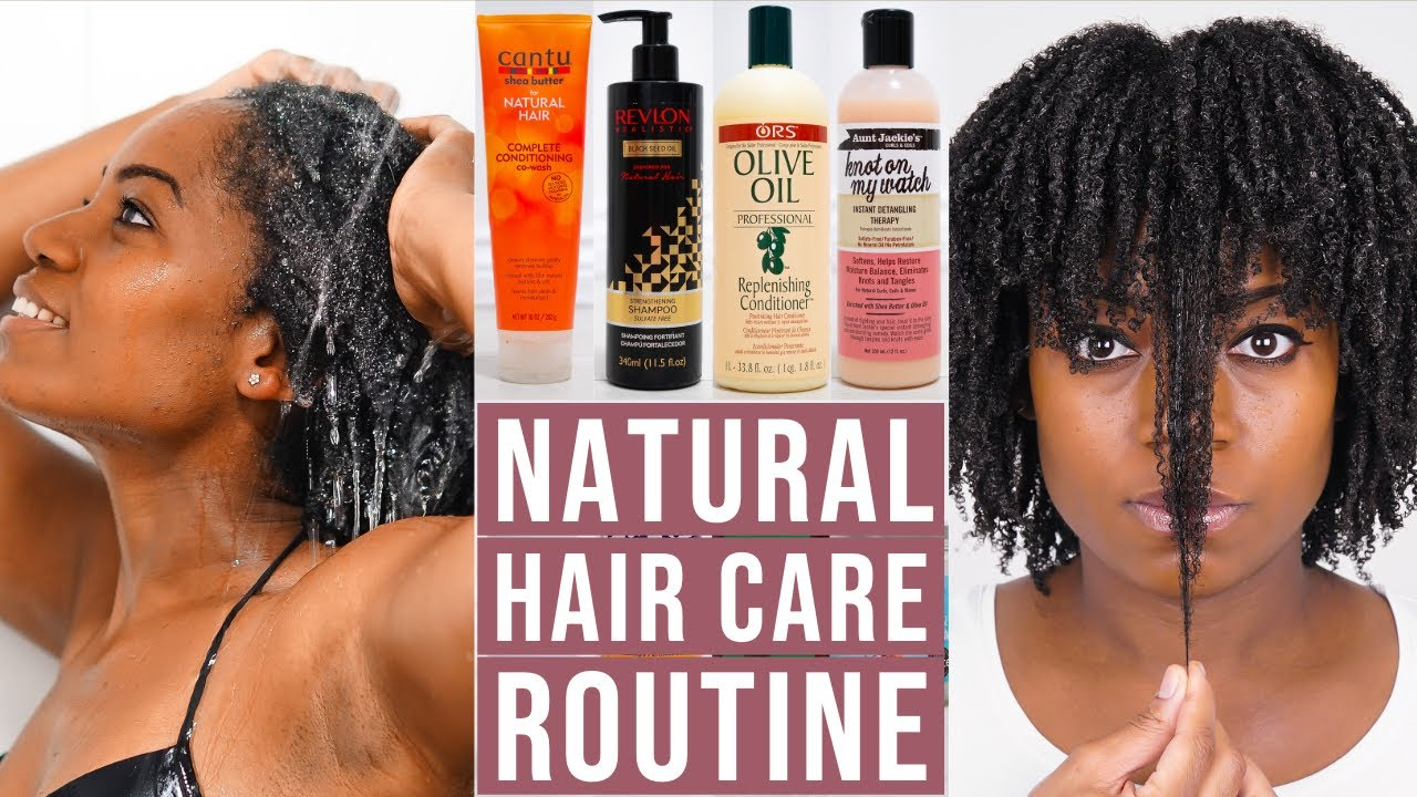 Natural Hair Care Routine 4b 4c Natural Hair Youtube