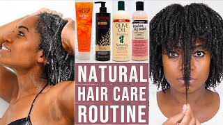 Natural Hair Care Routine 4b 4c Natural Hair