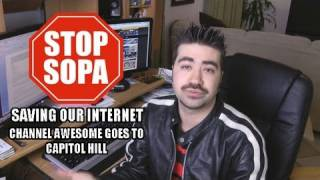Angry Joe Vlog - Stop SOPA! thumbnail