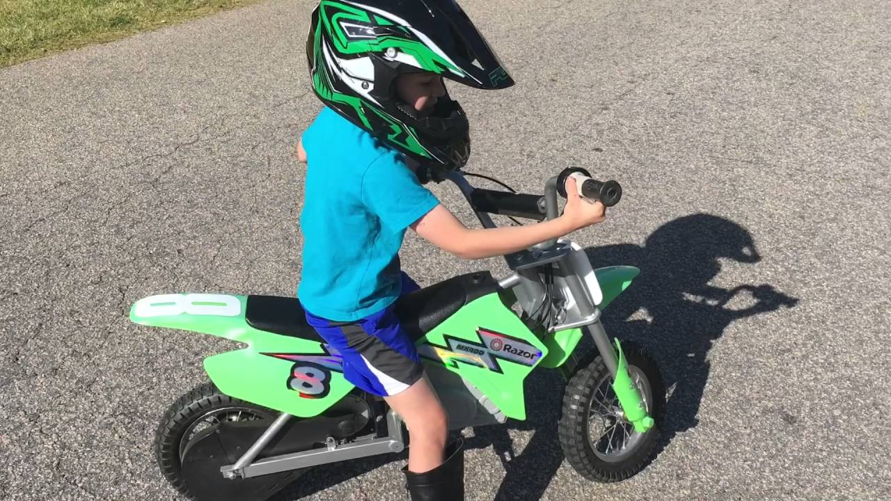 razor mx350 and mx400 electric motorcycle review - youtube