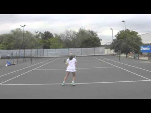 Tayla Van Eck College Recruitment video 2017
