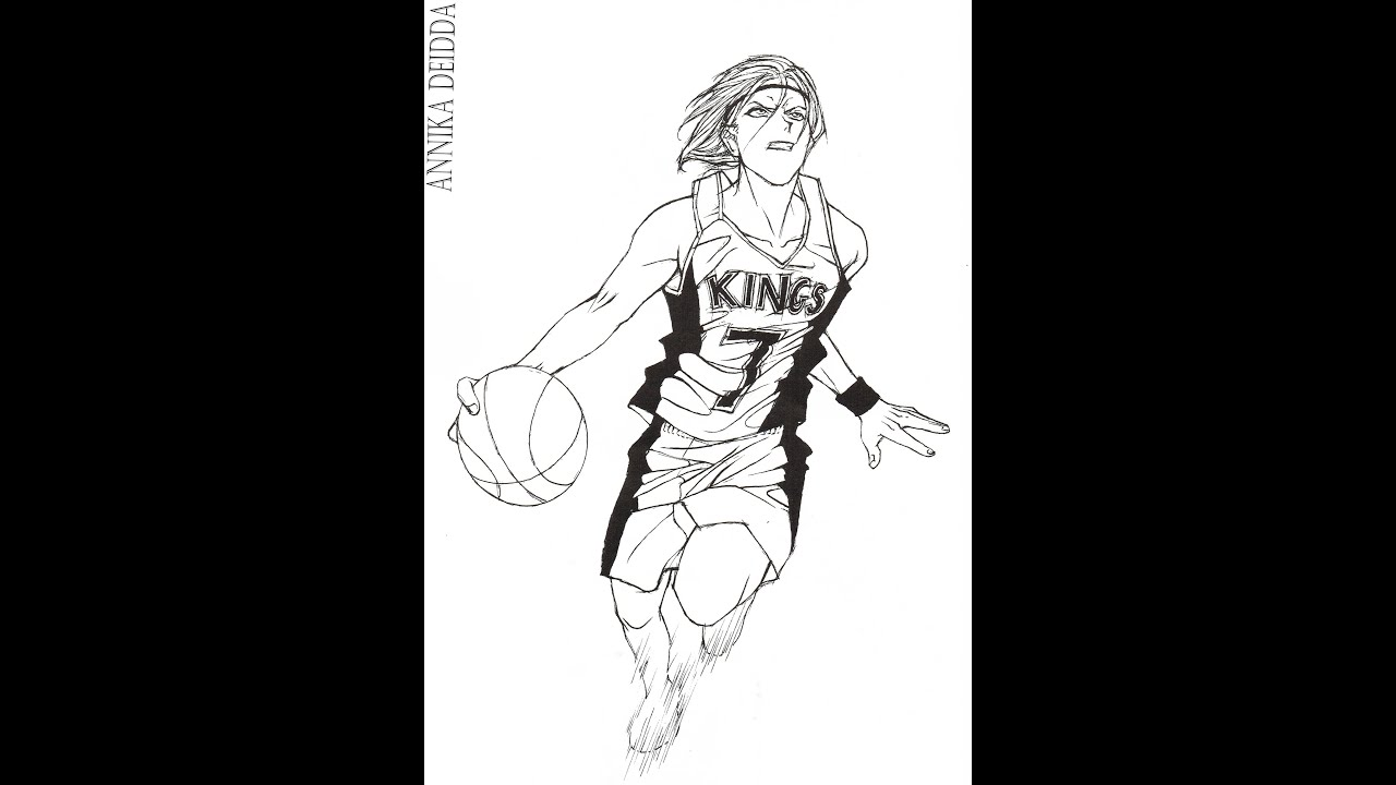 Basketball Player Drawing | www.imgkid.com - The Image Kid ...