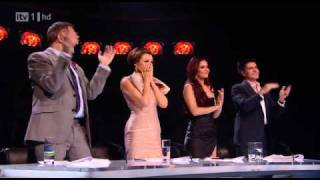 matt cardle first time ever saw your face full with judges reactions