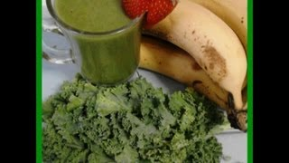Weight Loss Journey: Green Smoothie W/ Kale And Banana