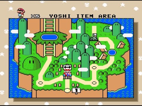 I'm finally back! Playing through an old Super Mario World roms...
