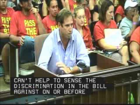 Kirby Kester testifies at Kauai County Council Sept 27, 2013