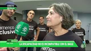 CANAL SUR TV Andalucía Directo: Flamenco Inclusivo en Fundación Cristina Heeren