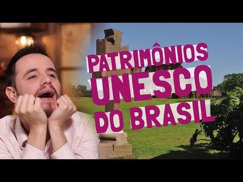 Todos Os PATRIMÔNIOS MUNDIAIS DA UNESCO Que O BRASIL Tem