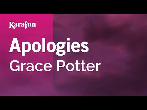 Karaoke Apologies - Grace Potter *