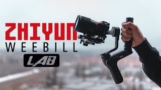 Zhiyun Weebill Lab Gimbal // First Look and Review